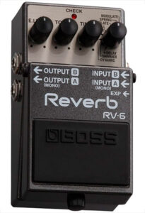pedal boss reverb