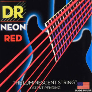 dr strings neon red