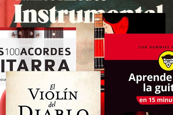 Libros de música, sobre música, de guitarra, sobre guitarras… la mejor compañía