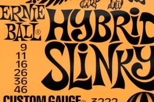 Ernie Ball Hybrid Slinky: Las mejores cuerdas para los guitarristas más versátiles