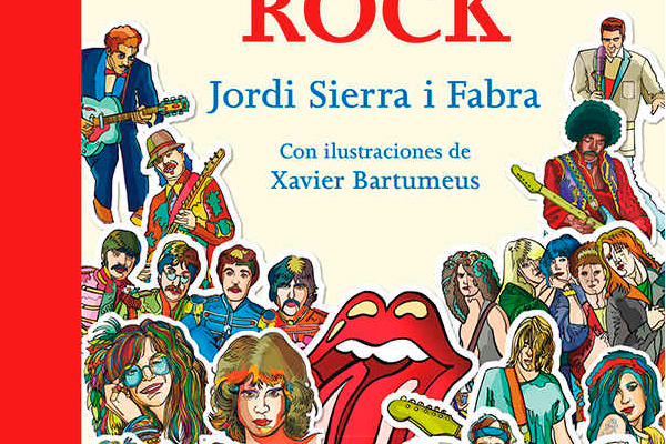 Historia del Rock de Jordi Sierra i Fabra, pionero de la fusión de música y literatura