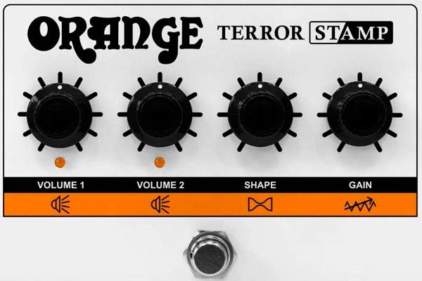 Orange Terror Stamp: El amplificador híbrido que cabe en tu pedalera
