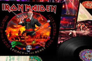 Iron Maiden, nuevo disco en directo: Night of the Dead, Legacy of the Beast, Live in Mexico City